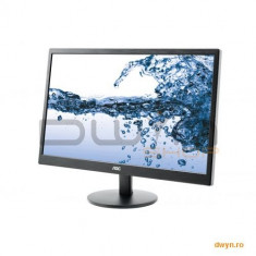 AOC 21.5' AOC E2270SWN LED, Wide 1920x1080, 5ms, 200cd/mp, 600:1 (DCR 20.000.000:1), 90/65, D-Sub, VESA, - Monitor LED AOC