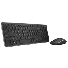 Dell KM714 Wireless Keyboard and Mouse US (QWERTY) - Tastatura Dell, Kit, Fara fir