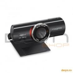 Creative Camera Web CREATIVE Live!Cam Connect HD AF 720, rezolutie video HD 720p pana la 30 cadre pe secunda, - Webcam