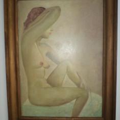 TABLOU-NUD - Pictor roman, Ulei, Realism