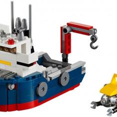 LEGO® Creator Nava de explorare oceanica 31045