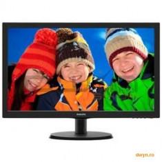 Monitor LCD PHILIPS 223V5LHSB/00 (21.5'', 1920x1080, LED Backlight, 1000:1, 10000000:1(DCR), 170/160