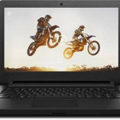 Laptop Lenovo Ideapad 110-15IBR 80T70074HV, negru + Windows 10, 4 GB, 500 GB