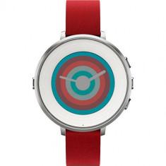 Pebble Smartwatch TIME ROUND Rosu