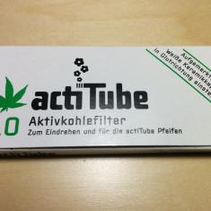 Filtre tigari actiTube charcoal - Filtru tutun