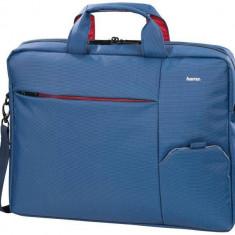 Geantă notebook Hama Marseille, 15, 6, albastră - Geanta laptop Hama, Geanta de umar, Poliester, Albastru