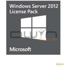 Microsoft Windows Server CAL 2012 English 1pk DSP OEI 5 Clt Device CAL - Sistem de operare
