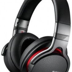 Sony Sony Casti audio tip DJ MDR1AB, Noise canceling, Negru - Casti Sony, Casti On Ear, Cu fir, Mufa 3, 5mm, Active Noise Cancelling