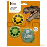 Aparat de vizualizat diapozitive cu dinozauri