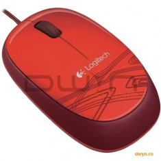 MOUSE Logitech 'M105' Optical Mouse, USB, red '910-002942'