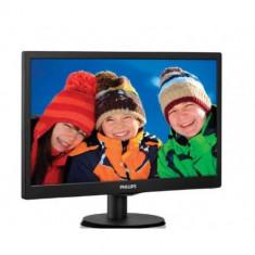 Monitor LED PHILIPS 193V5LSB2/10 (18.5', 1366x768, 800:1, 10000000:1(DCR), 90/65, 5ms, VGA) Black