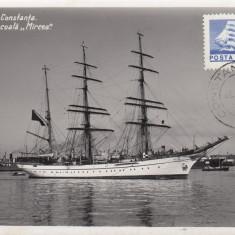 CONSTANTA NOUL VAS SCOALA MIRCEA - Carte Postala Dobrogea dupa 1918, Necirculata, Fotografie