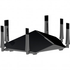 Router wireless D-Link Gigabit DIR-890L Ultra, Port USB, Porturi LAN: 4