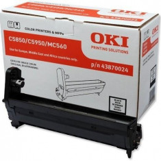 Tambur EP OKI negru  C5850/5950/MC560 - Cilindru imprimanta