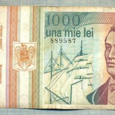 A1396 BANCNOTA-ROMANIA-1000 LEI-1993 -SERIA 0030 -EMINESCU -starea care se vede - Bancnota romaneasca