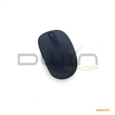 Mouse Microsoft Mobile 1850, Wireless, albastru inchis, U7Z-00013