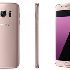 G930F SS Galaxy S7 32GB Pink Gold 4G/5.1/OC/4GB/32GB/5MP/12MP/3000mAh - Telefon Samsung, Roz, Neblocat, Single SIM