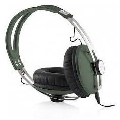 MODECOM casti cu microfon MC-450 ONE GREEN, Casti On Ear, Cu fir, Mufa 3, 5mm, Active Noise Cancelling