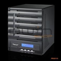 Thecus, 5 Bay NAS, Intel ATOM D2550 1.86GHz, 2GB DDR3, Single 1G DOM, iSCSI, GbE x 2, eSATA, USB 3.0
