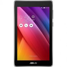Asus Tableta ASUS ZenPad C 7.0 (Z170CG), Intel Atom Quad-Core C3230, 1GB RAM, 16GB Flash, Wi-Fi, 3G, Bluetooth, Android 5.0, Black, 7 inch