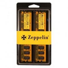DIMM DDR3/1333 8192M (kit 2x 4096M) dual channel kit ZEPPELIN (retail) - Memorie RAM