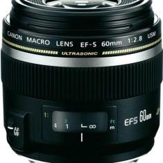 Obiectiv Canon 60/F2.8 USM EF-S Macro - Obiectiv DSLR Canon, Macro (1:1), Canon - EF/EF-S