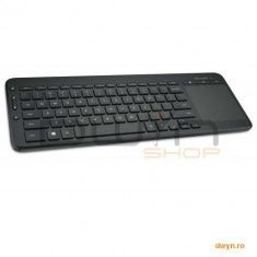 Microsoft Wireless All-in-One Media Keyboard - Micro USB Receiver - Tastatura Microsoft, Fara fir