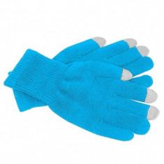 Manusi iarna touchscreen Muvit Marimea M Bleu - Manusi touchscreen