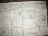 Harta Militara 1917 a zonei Dumeni jud.Botosani-exec. Serviciul Geografic Armata