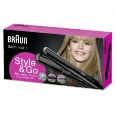 Aparat de îndreptat părul Braun Satin Hair 1 ST 100 mini - Placa de par
