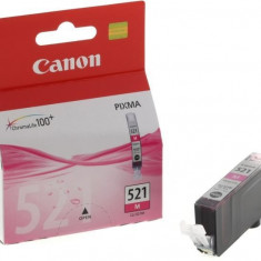 Canon Cerneala Canon CLI521M fucsia | iP3600/iP4600/MP540/MP620/MP630/MP980 - Cerneala imprimanta