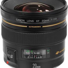 Obiectiv Canon EF 20mm f/2, 8 USM - Obiectiv DSLR Canon, Wide (grandangular), Canon - EF/EF-S