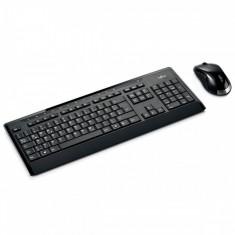 Tastatura Fujitsu Wireless Set LX901 US layout (Keyboard & Mouse), Kit, Fara fir, USB