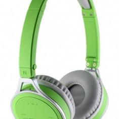 Casti Esperanza Yoga EH160G Close-Air Stereo Wireless Bluetooth 2.1 verde, Casti On Ear