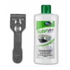 Wpro Set curăţire plăci ceramice Wpro KVT-200 Natur Vitro - pentru plite - Masina de spalat rufe incorporabila