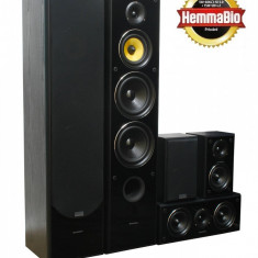 Sistem Surround TAV-606SE, Negru
