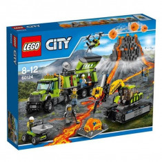 LEGO® Băză cercetare vulcan LEGO ® City 60124 - LEGO Minecraft