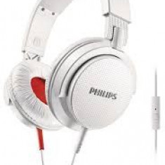 Căşti Philips SHL3105WT/00, Casti On Ear, Cu fir, Mufa 3, 5mm, Active Noise Cancelling