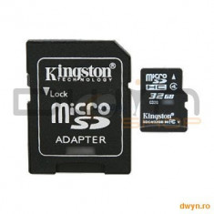32GB microSDHC Class 4 Flash Card - Card Compact Flash