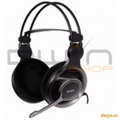 A4Tech HS-100, Gaming Headphone, Volume control, Microphone - Casca PC
