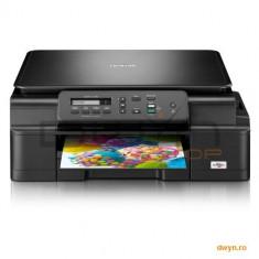 Brother DCPJ105YJ1, Multifunctional inkjet A4 (print/copy/scan), viteza printare: 11 ipm mono/6 ip - Multifunctionala