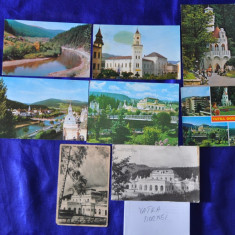 Lot 8 CP VATRA DORNEI. (Carti postale vechi, Vederi Romania), Circulata, Fotografie, Romania de la 1950