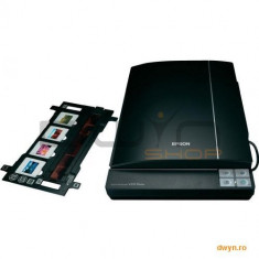 Epson Perfection V370 Photo, Flatbed Scanner format A4, sursa de lumina Tehnica ReadyScan LED, Rezol