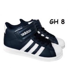 Ghete Adidas Superstar - unisex - Bocanci dama Nike, Culoare: Negru, Marime: 40, 43, Piele naturala