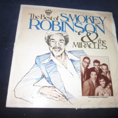The Best Of Smokey Robinson & The Miracles _ vinyl(dublu LP) SUA - Muzica Blues Altele, VINIL