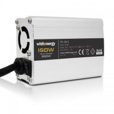 WHITENERGY Invertor Tensiune Whitenergy 09410 DC/AC de la 24V DC la 230V AC 150W