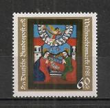 Germania.1981 Nasterea Domnului-Pictura pe sticla  SG.431, Nestampilat