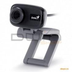 Genius Camera Web Genius FaceCam 321, senzor CMOS 640x480, imagine pana la 8M Pixeli (software), focus manu - Webcam
