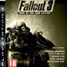 Bethesda softworks Joc software Fallout 3 Game Of The Year Hu PC