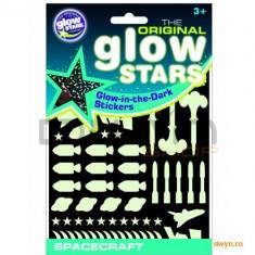 The Original Glowstars Company Stickere Navete spatiale fosforescente